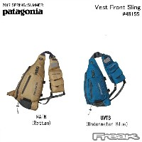 【PATAGONIA パタゴニア バッグ】48155<Vest Front Sling ベスト フロント スリング 8L>※取り寄せ品