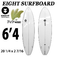 EIGHT SURFBOARD 6'4 エイトサーフボード エントリー用 ショートボード TRI フィン付