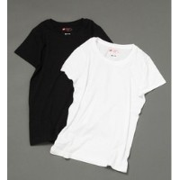 Hanes/2PパックTEE【アパートバイローリーズ/apart by lowrys Tシャツ・カットソー】