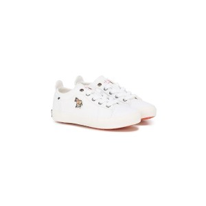 Paul Smith Junior - サイドパッチ スニーカー - kids - Canvas/rubber - 35