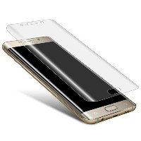 Samsung Galaxy S7 Edge Full Coverage Tempered Glass Screen Protector. Protect your screen with the...