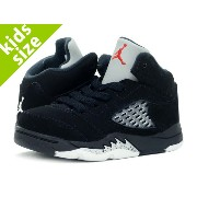 【ベビーサイズ】【8-16cm】 NIKE AIR JORDAN 5 RETRO OG BT ナイキ エア ジョーダン 5 レトロ OG BT BLACK/FIRE RED/METALLIC...