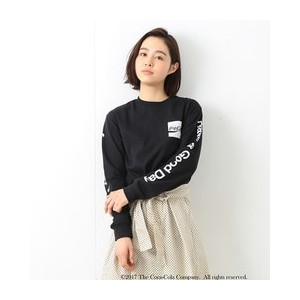 Coca-Cola & Fruit of The Loom by BEAMS BOY / プリント ロングスリーブ Tシャツ【ビームス ウィメン/BEAMS WOMEN レディス Tシャツ...