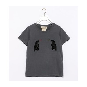 REMI RELIEF × Ray BEAMS / 別注 熊vs熊 Tシャツ【ビームス ウィメン/BEAMS WOMEN Tシャツ・カットソー】