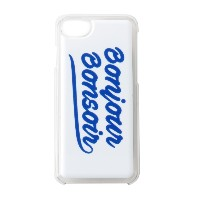 【bonjour bonsoir】iPhone7 CASE SMOOTH LOGO