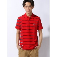LACOSTE (M)ボーダーポロシャツ (半袖) ラコステ【送料無料】