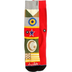 スタンス Stance インナー ソックス【Stance Chocolate Flags Socks 】