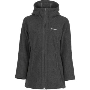 コロンビア Columbia レディース アウター ジャケット【Benton Springs II Long Hooded Fleece Jacket】Charcoal Heather