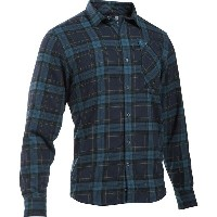 アンダーアーマー Under Armour メンズ トップス シャツ【Borderland Flannel Shirt】Deep Sea/Deep Sea