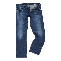 リプレイ メンズ ボトムス ジーンズ【Replay Laserblast Newbill comfort-fit jeans】Blue