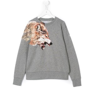 Marcelo Burlon County Of Milan Kids - Cruce sweatshirt - kids - コットン/ポリエステル - 4歳