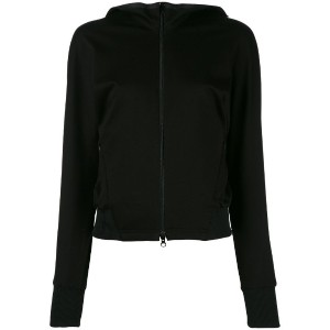Y-3 - double front fitted jacket - women - コットン/リヨセル - XS