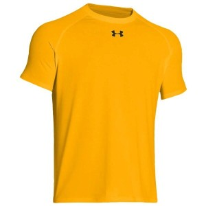 アンダーアーマー メンズ トップス Tシャツ【Under Armour Team Locker Shortsleeve T-Shirt】Steeltown Gold/Black