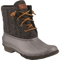 トップサイダー Sperry Top-Sider レディース シューズ・靴 ブーツ【Saltwater Rope Emboss Neoprene Boot】Grey
