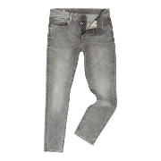 ジースター メンズ ボトムス ジーンズ【G-Star 3301 Kamden Grey Stretch Denim Tapered Jeans】Denim Light Wash