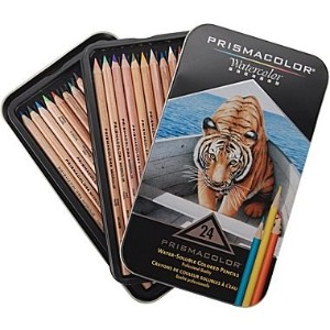 SANFORD Prismacolor プリズマカラー水彩色鉛筆 Watercolor 24色セット カリスマカラー