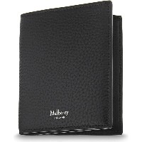 マルベリー mulberry メンズ アクセサリー 財布【trifold grained leather card wallet】Black