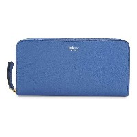 マルベリー mulberry レディース アクセサリー 財布【grained leather zip-around wallet】Porcelain blue