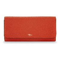 マルベリー mulberry レディース アクセサリー 財布【grained leather continental wallet】Fiery red