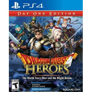 PS4 Dragon Quest Heroes: The World Tree's Woe and the Blight Below USA(ドラゴンクエストヒーローズ ワールドツリーズウーアンドブラ...