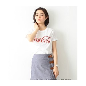 【FUGDE 5月号掲載】Coca-Cola & Fruit of The Loom by BEAMS BOY / プリント Tシャツ【ビームス ウィメン/BEAMS WOMEN Tシャツ...