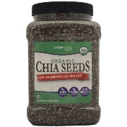 Betterbody Foods Organic Chia Seeds (32 Oz.) - SCS by Better Body Foods [並行輸入品]