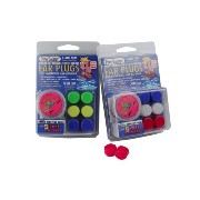 3-Pair Pack of PUTTY BUDDIES Floating Formula Soft Silicone Ear Plugs for Swimming/ Bathing - Blue,...