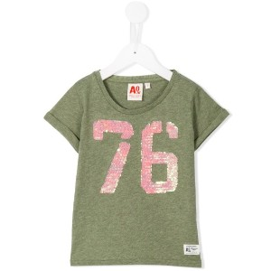 American Outfitters Kids - スパンコール装飾 Tシャツ - kids - コットン - 4歳