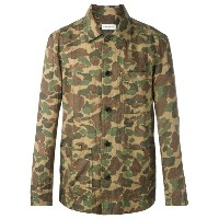 Dries Van Noten camouflage print shirt
