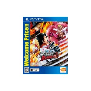 Game Soft (PlayStation Vita) / 【PS Vita】ONE PIECE BURNING BLOOD Welcome Price!! 【GAME】