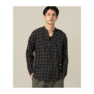 PIG&ROOSTER / ピッグ&ルースター: CHECK PULL OVER SHIRT【ジャーナルスタンダード/JOURNAL STANDARD シャツ・ブラウス】