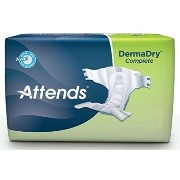 Attends DermaDry Complete Briefs, X-Large (58-63 Inch Waist) - 1/Pack of 20 (Replacement for...