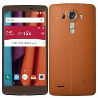 LG電子 au isai vivid LGV32SKA (Leather Brown)