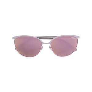 Vogue Eyewear - half frame sunglasses - women - metal - 57