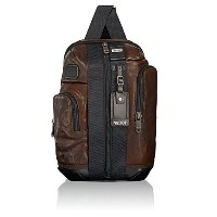 Tumi / Alpha Bravo Leather Saratoga Sling / Leather