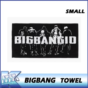【送料無料】10th BIGBANG TOWEL SMALL/BIGBANG THE CONCERT 0.TO.10 MD/公式グッズ/YG/ビッグバン