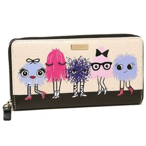 ケイトスペード 財布 KATE SPADE PWRU5316 974 IMAGINATION MONSTER PARTY LACEY 長財布 MULTI