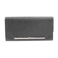 Tumi DFO Gallery Continental Wallet in Black 041580DO
