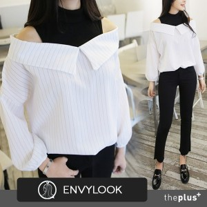 ★ Envylook★SuperSale★ Off Shoulder Blouse / Korean Fashion / High Quality / Trendy Style