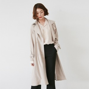 Modern lady Trench coat