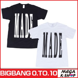 BIGBANG -BIGBANG T-SHIRTS MADE  [BIGBANG THE CONCERT 0.TO.10 FINAL IN SEOUL MD][公式グッズ][YG]