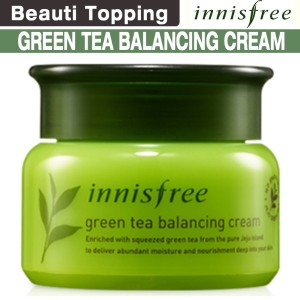 [Beauti topping]{innisfree}しっとりが長持ち★green tea balancing cream★緑茶 水分クリーム