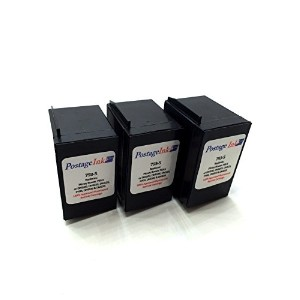 Pitney Bowes 793-5 Red Ink Cartridge (3-Pack) for P700 DM100 DM100i & DM200L Postage Meters