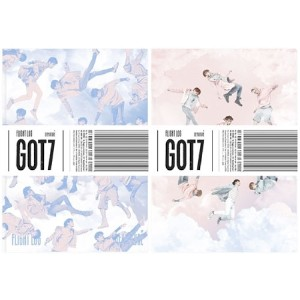 GOT7 - 5th Mini Album: FLIGHT LOG:DEPARTURE (ランダムカバー) 韓国盤 【03/22発売】