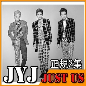 JYJ 正規2集 - JUST US /J.Y.J ジェジュン、ユチョン、ジュンス / BACK SEAT /TVXQ/JEJUNG/MICKY/XIA