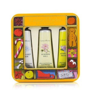 クラブツリー&イヴリン Countryside Florals Hand Therapy Tin Set 3x25g