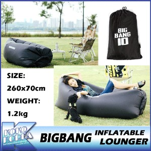 【送料無料】10th BIGBANG OUTDOOR INFLATABLE LOUNGER/エアーベッド/BIGBANG THE CONCERT 0.TO.10 MD/公式グッズ/YG/ビッグバン