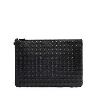 ★【MCM 正規品】★TANTRIS LEATHER LARGE POUCH★MYZ6SVH10BK★【EMS無料発送】★