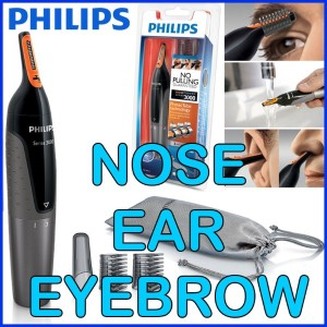 [Philips]◆Sale Event◆Comfortable Nose Ear and Eyebrow Trimmer / Multi-Shaver NT3160