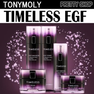 ★ TonyMoly ★ Timeless EGF Line!! toner e mulsion essence eye cream cream